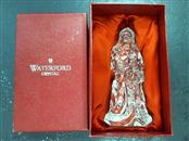WATERFORD Glass/Pottery CRYSTAL SANTA